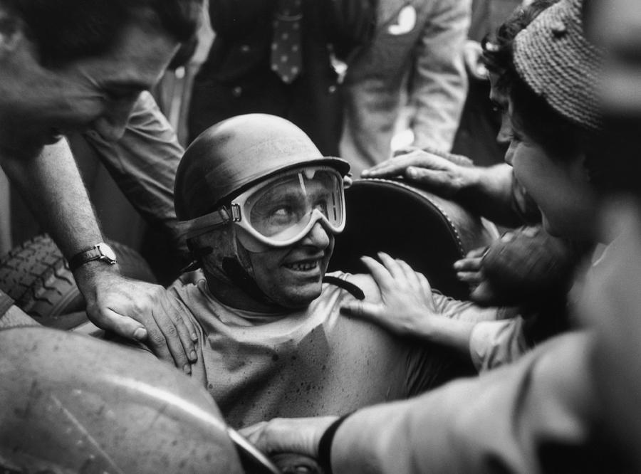 Juan Manuel Fangio Photograph by George Stroud