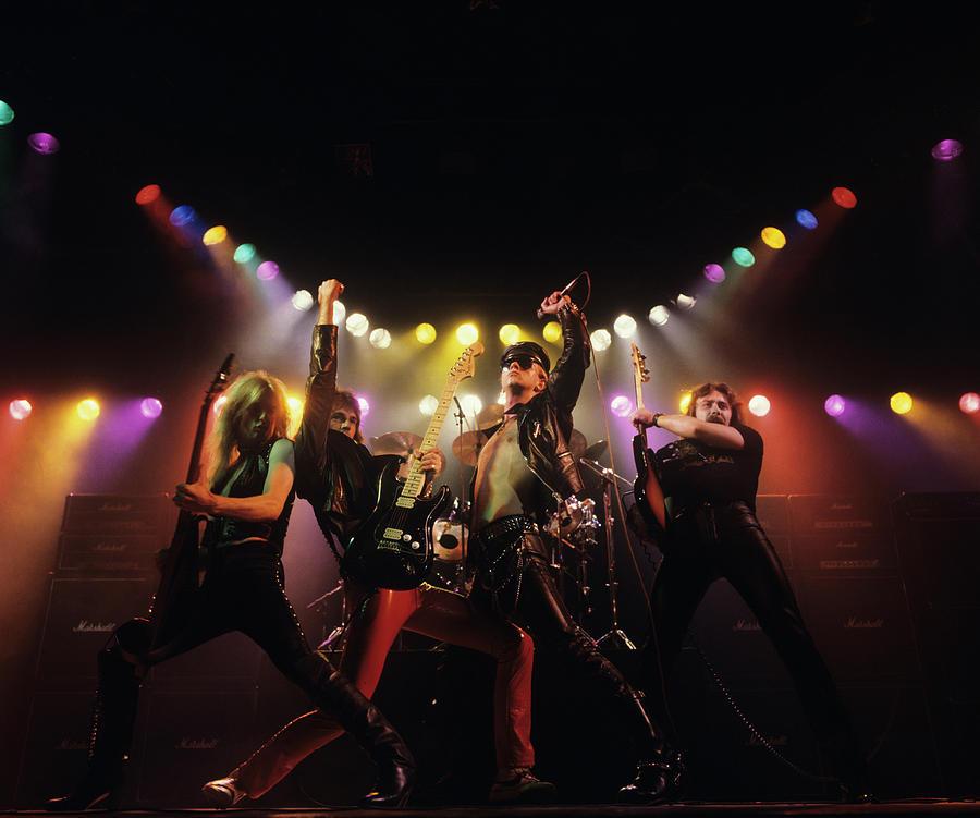 Judas Priest Album Cover Shoot Photograph by Fin Costello