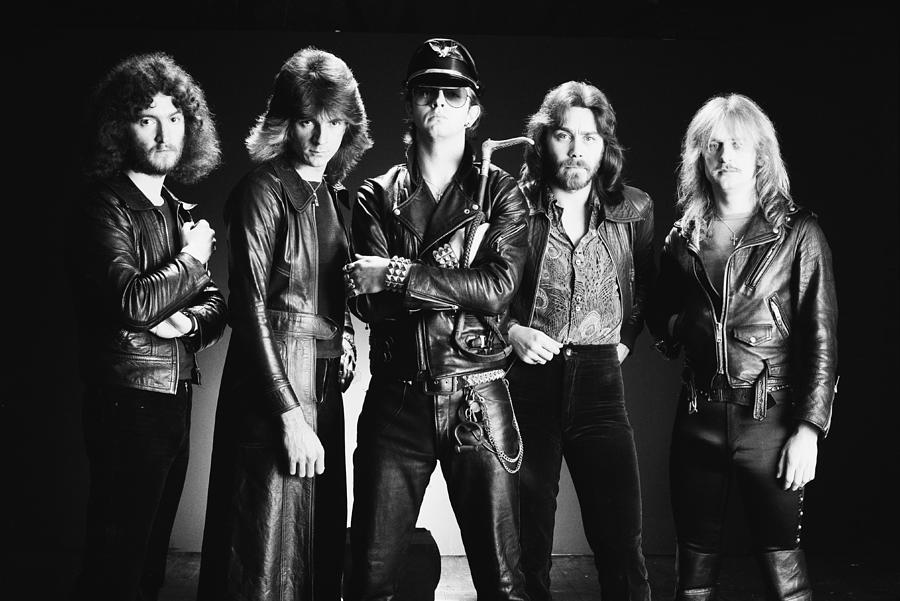 Judas Priest Photograph by Fin Costello