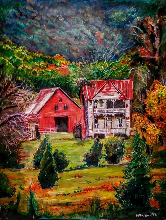 Judge Ellis Home by Mike Benton