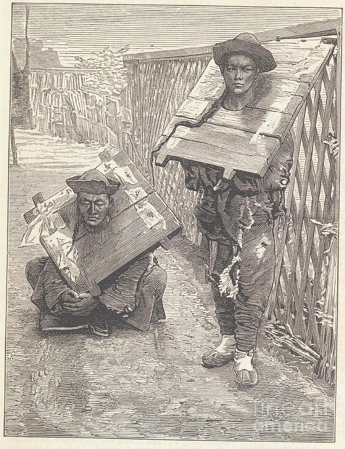 Judged Suspects Wearing Punishment Photograph by Bettmann