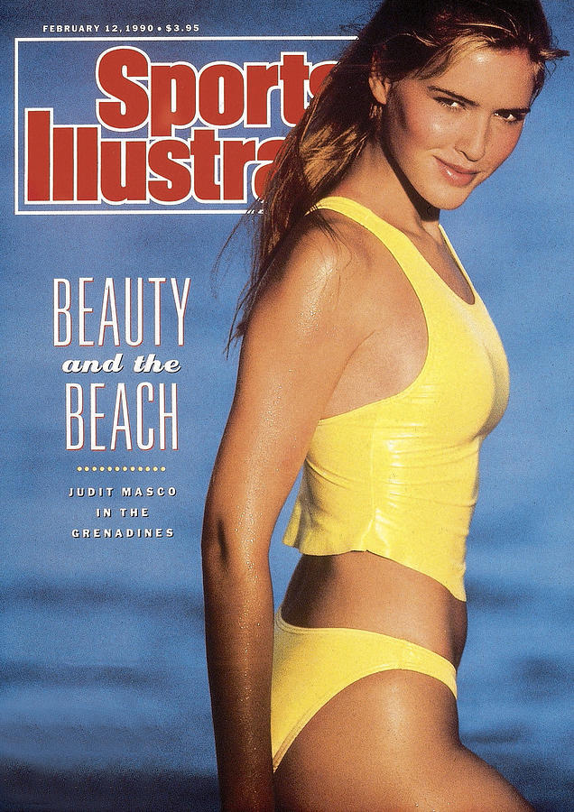 Judit Masco Swimsuit 1990 Sports Illustrated Cover Photograph by Sports Illustrated