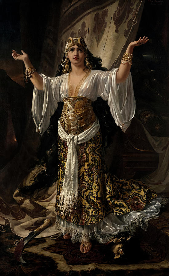 Americo Painting - Judith And Holofernes, 1880 by Pedro Americo