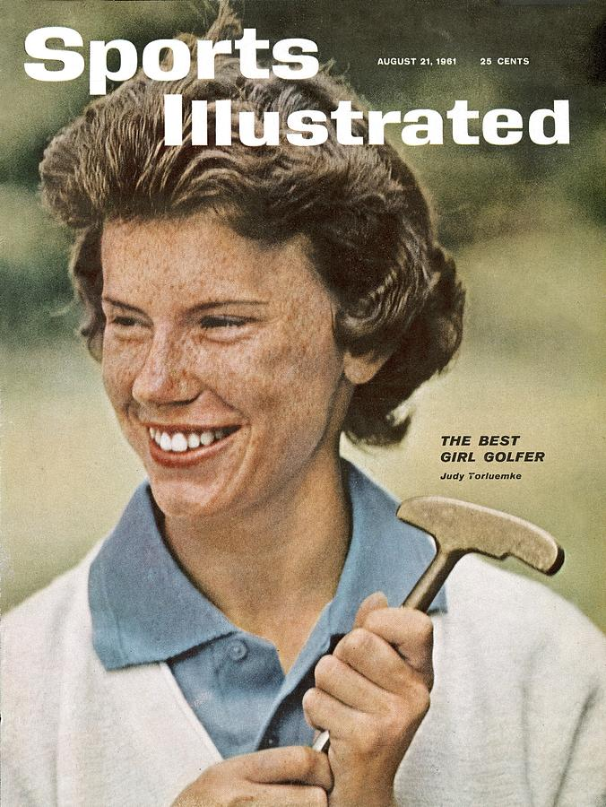 Judy Torluemke, 1961 Us Womens Open Sports Illustrated Cover Photograph by Sports Illustrated