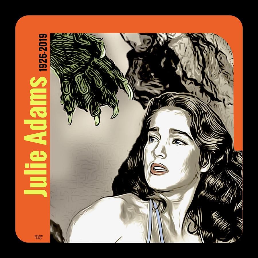 Julie Adams Tribute Digital Art