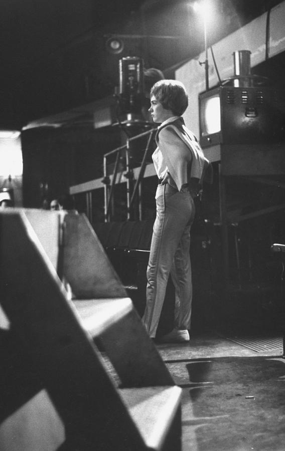 Julie Andrews Photograph by Gordon Parks