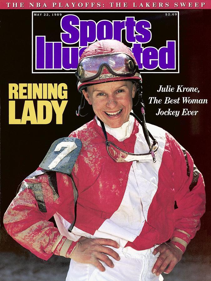 Julie Krone, Horse Racing Jockey Sports Illustrated Cover Photograph by Sports Illustrated