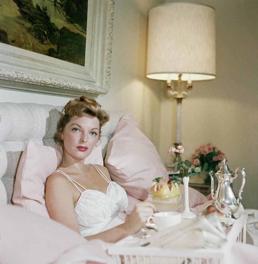 Julie London Photograph by Slim Aarons
