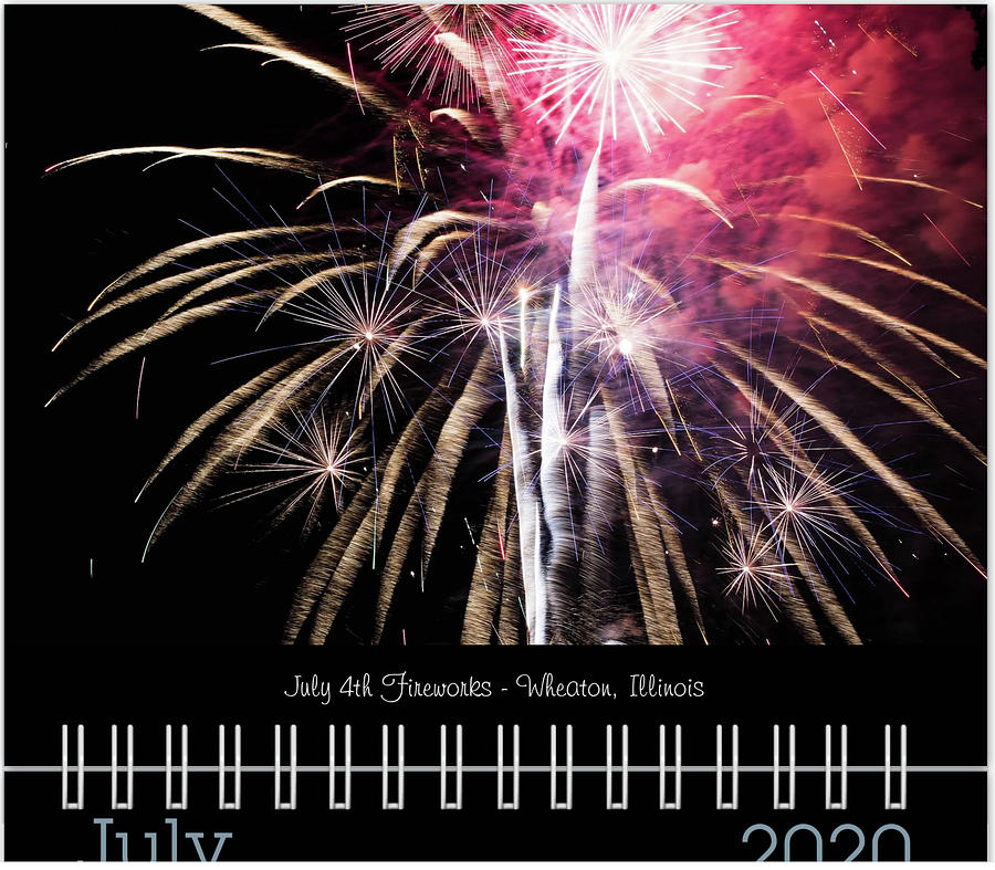 July 2020 Classic Calendar Preview by Joni Eskridge