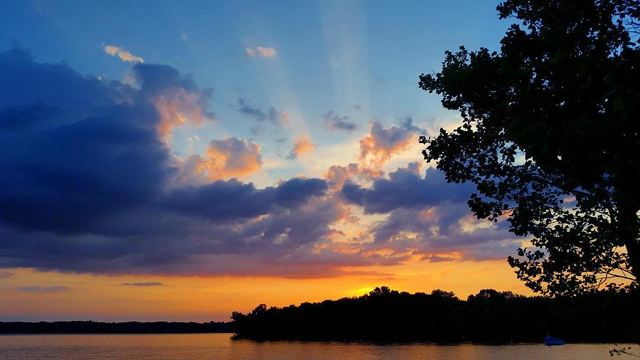 July 31st Sunset Photograph