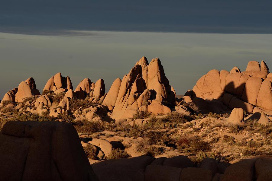 Jumbo Rocks in Joshua Tree  by Ben Foster