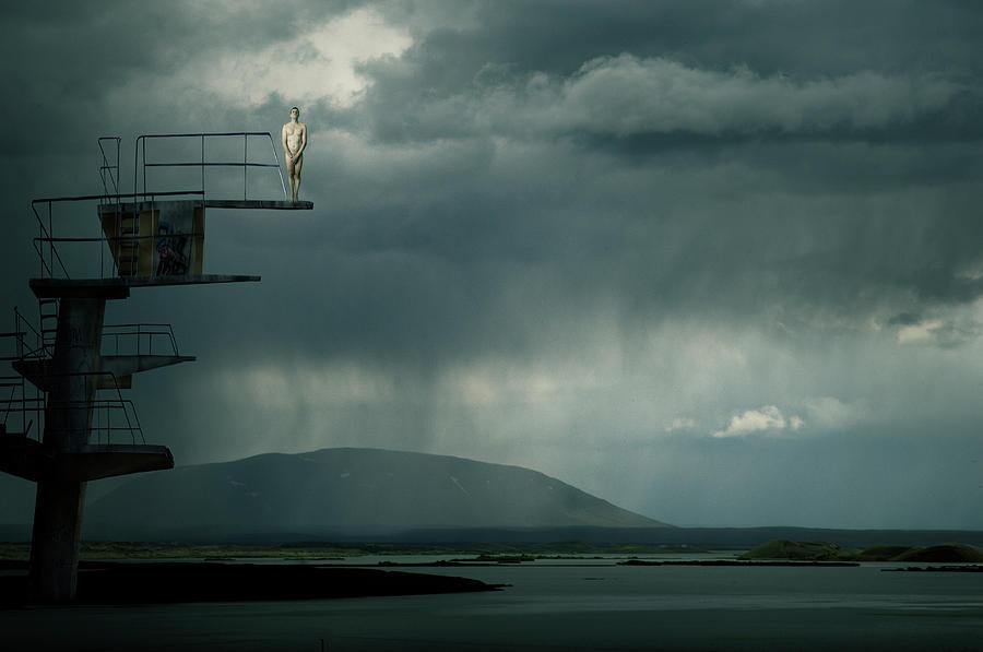 Tower Photograph - Jumping Jack by Christine Von Diepenbroek