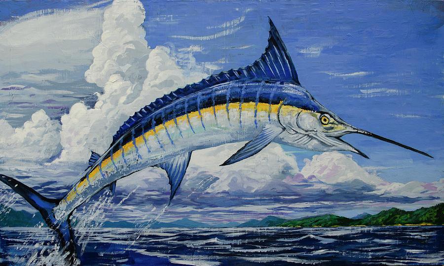 Jumping Marlin by John Gibbs
