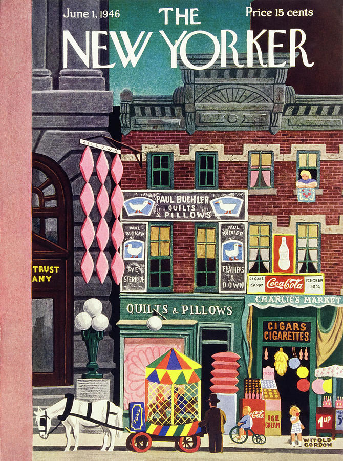 New Yorker June 1, 1946 Painting by Witold Gordon