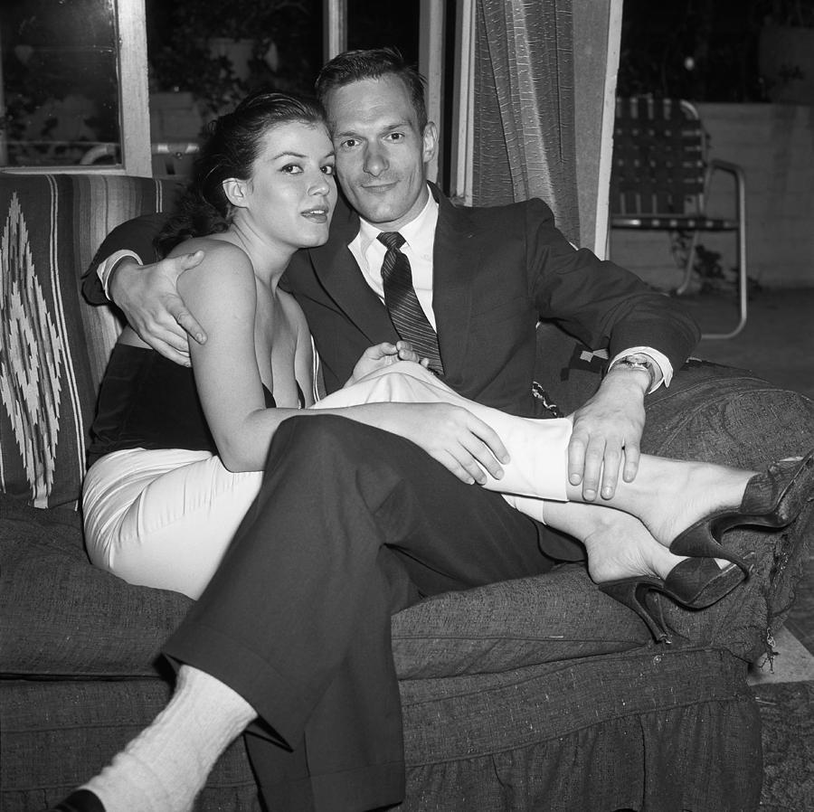 June 30, 1957, Hollywood, Hugh Hefner Photograph by Michael Ochs Archives