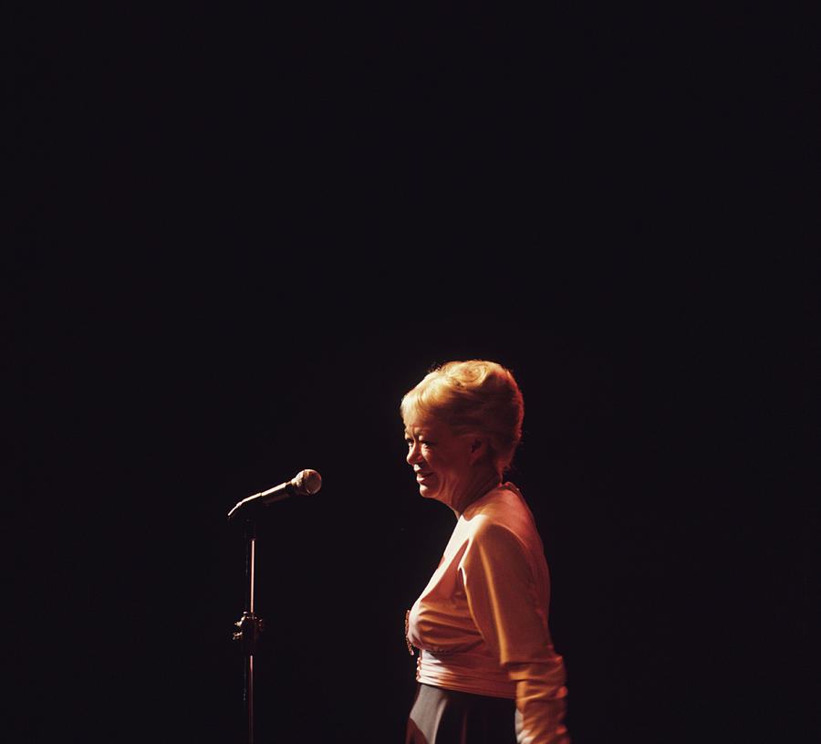 June Christy Performs At Newport Photograph by David Redfern