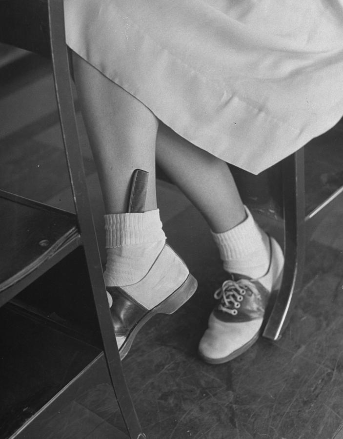 June Runyon Photograph by Nina Leen