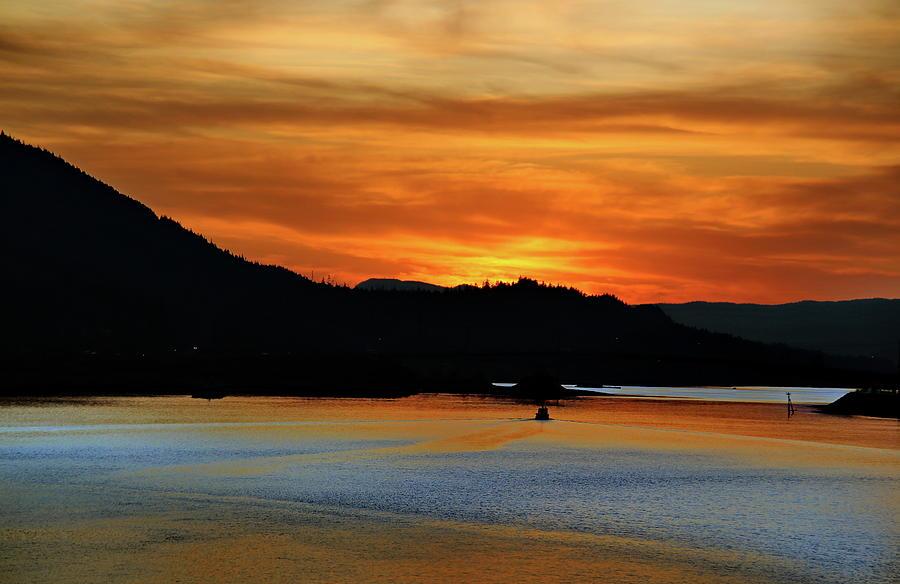 Juneau Alaska Sunset 2019 by Russ Harris