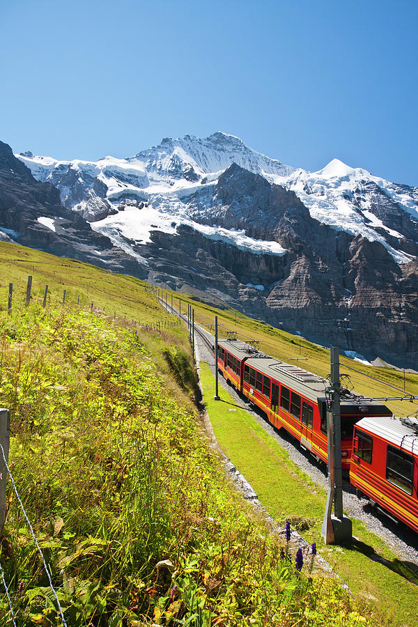Jungfraubahn, Swiss Alps Photograph by Michaelutech