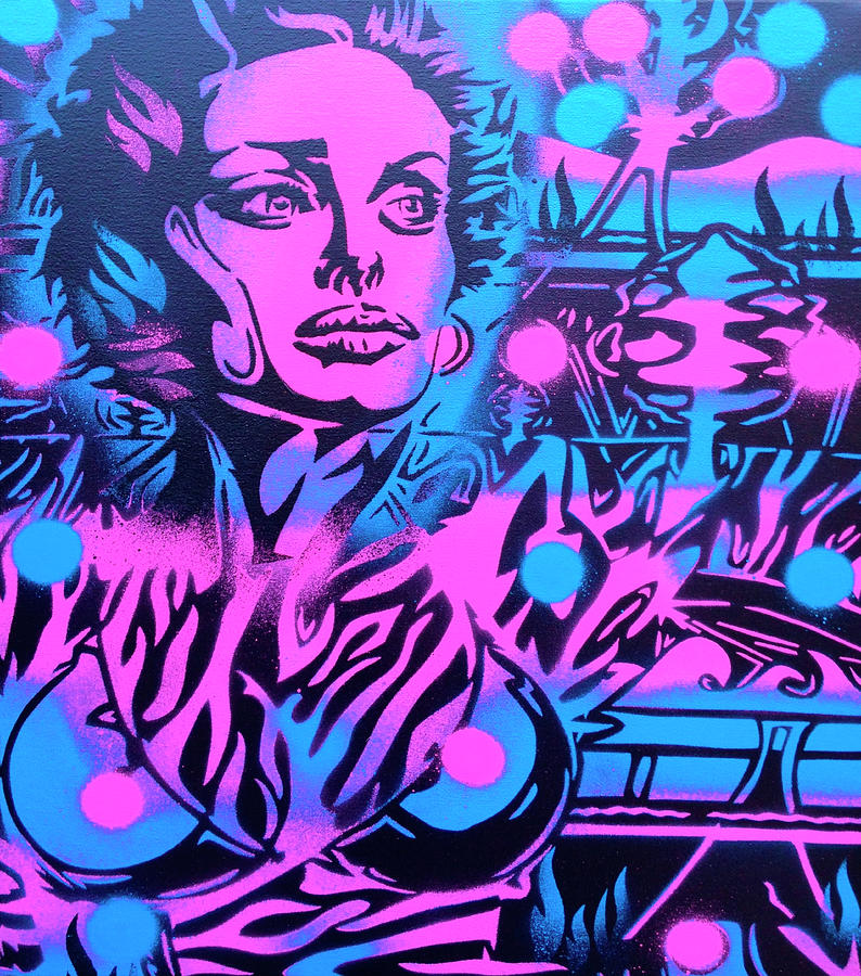 Jungle Mixed Media - Jungle by Abstract Graffiti