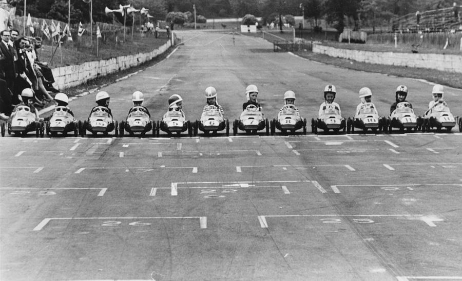 Junior Grand Prix Photograph by Central Press