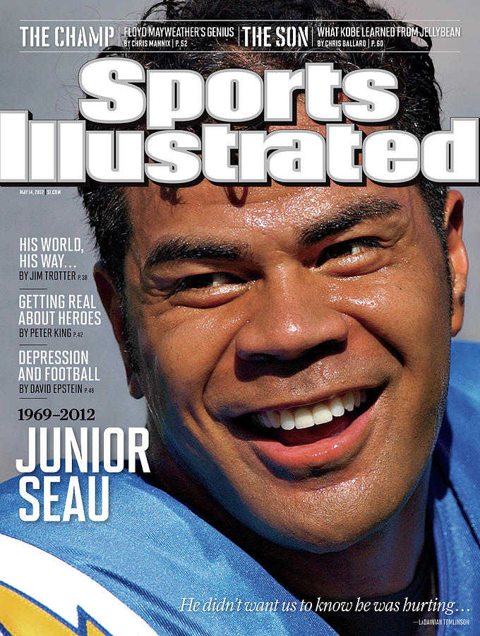 Junior Seau 1969 - 2012 Sports Illustrated Cover Photograph by Sports Illustrated