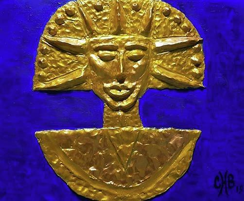 Junkanoo And Ancient African Art Mixed Media