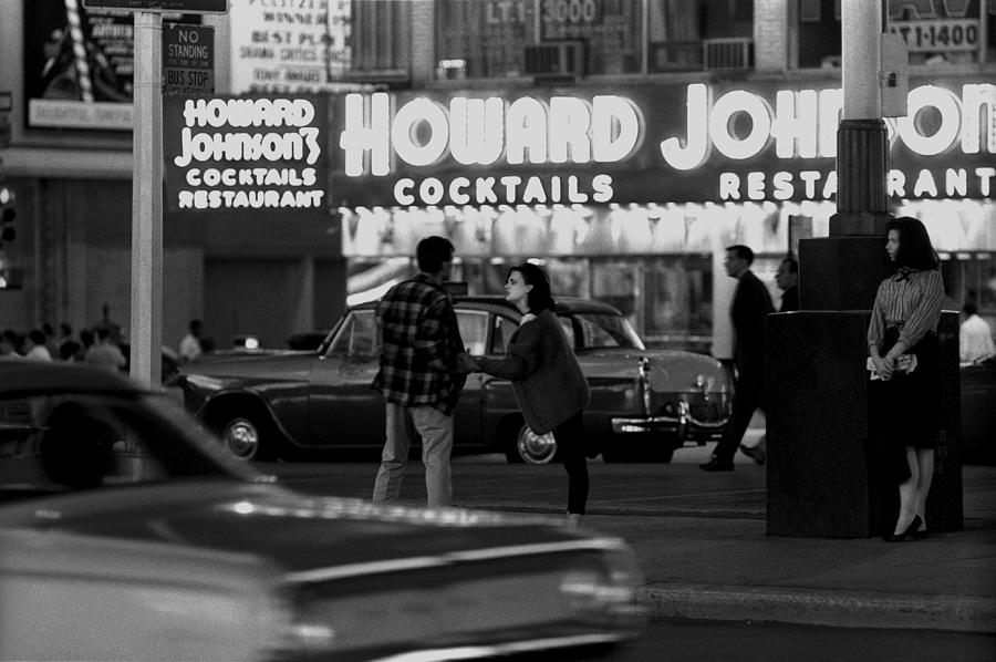 Junkies In Times Square Photograph by I C Rapoport