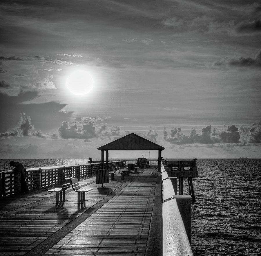 Juno Pier Bright and Sunny by Steve DaPonte
