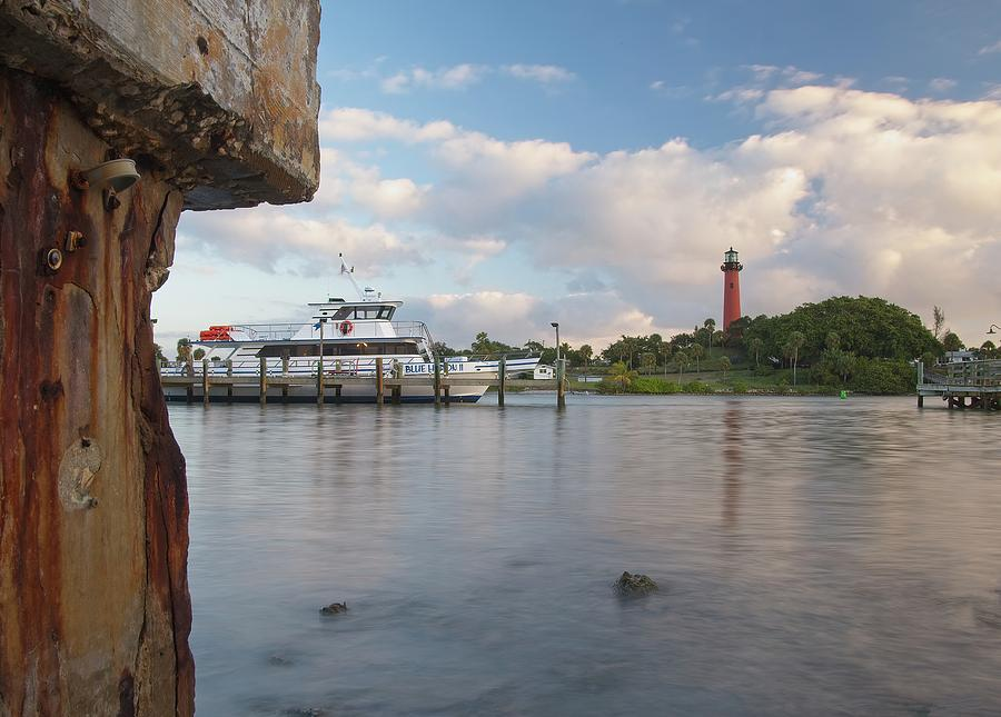 Jupiter Lighthouse Scene by Steve DaPonte