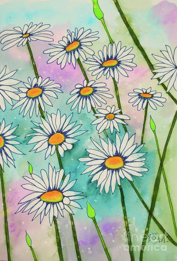 Just A Bunch Of Daisies  by Barrie Stark