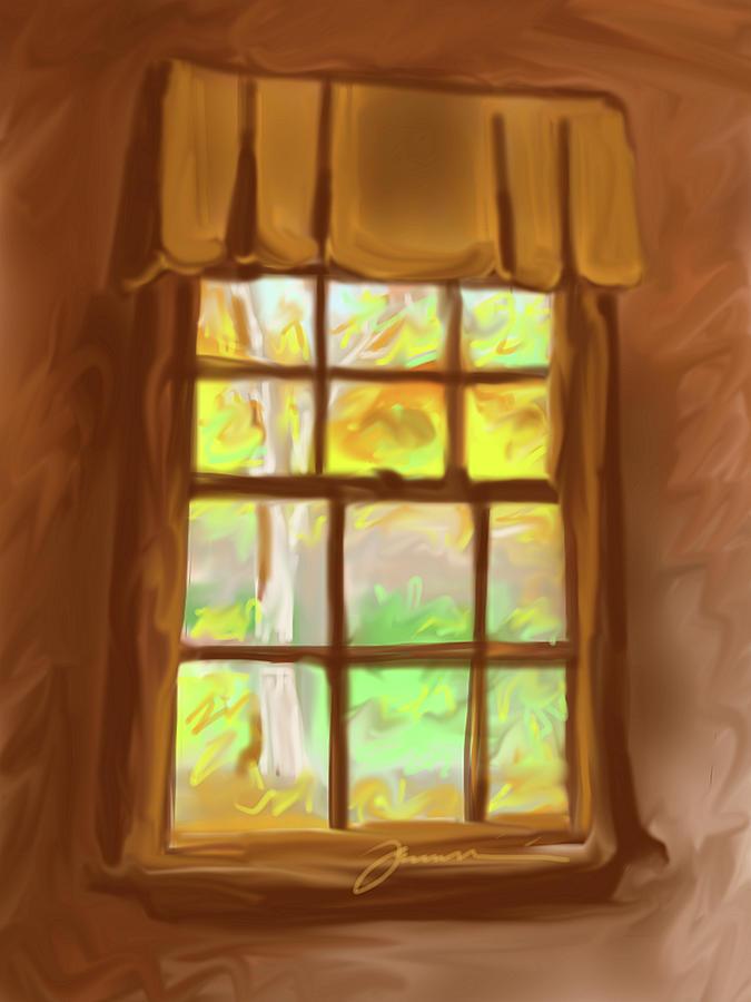 Just A Window by Jean Pacheco Ravinski