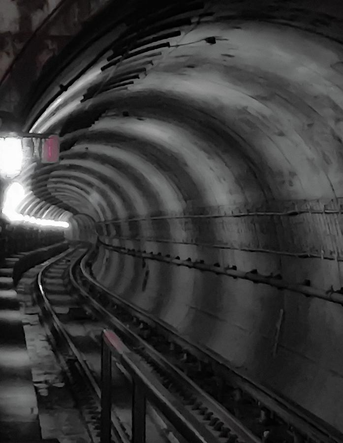 Metro Photograph - Just Around The Bend by Lora J Wilson