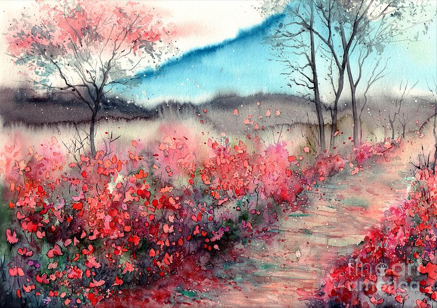 Dawn Painting - Just Before Dawn by Suzann Sines