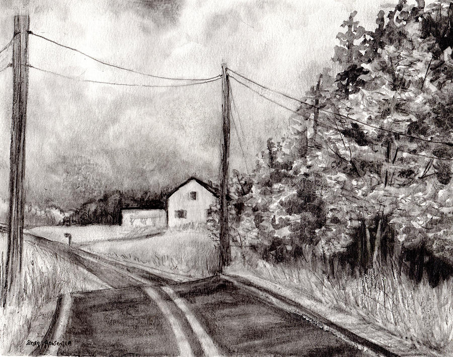 Just Down the Road by Shana Rowe Jackson