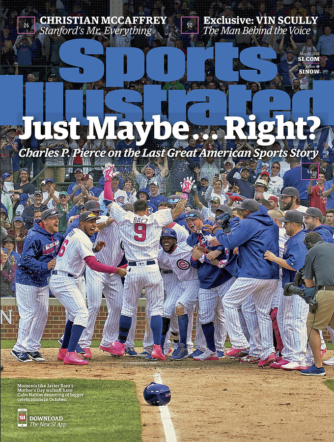 Just Maybe... Right The Last Great American Sports Story Sports Illustrated Cover Photograph by Sports Illustrated