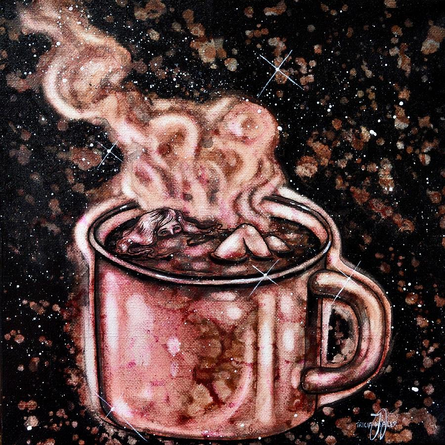 Just One Cup Painting by Tricia Kibler