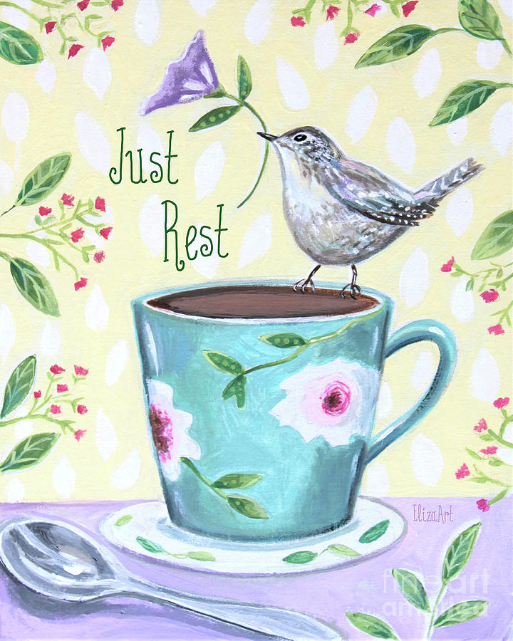 Just Rest by Elizabeth Robinette Tyndall
