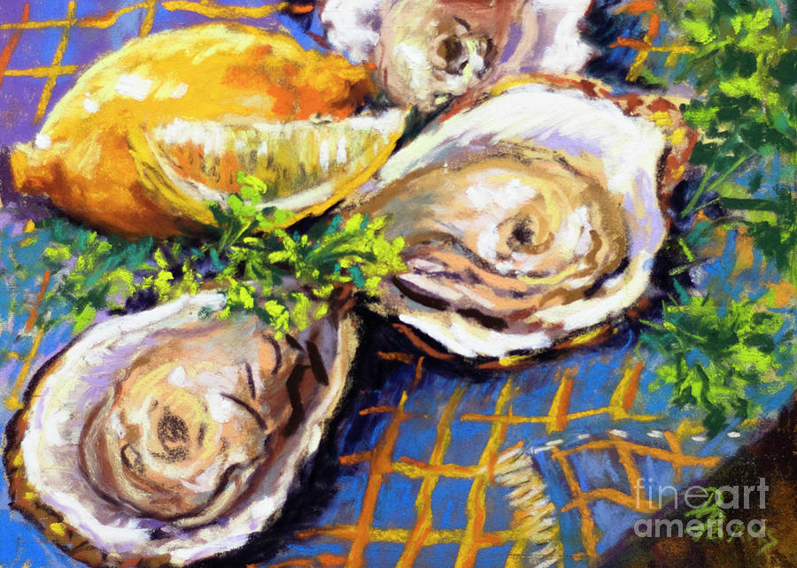 Diane Parks Painting - Just Three by Dianne Parks