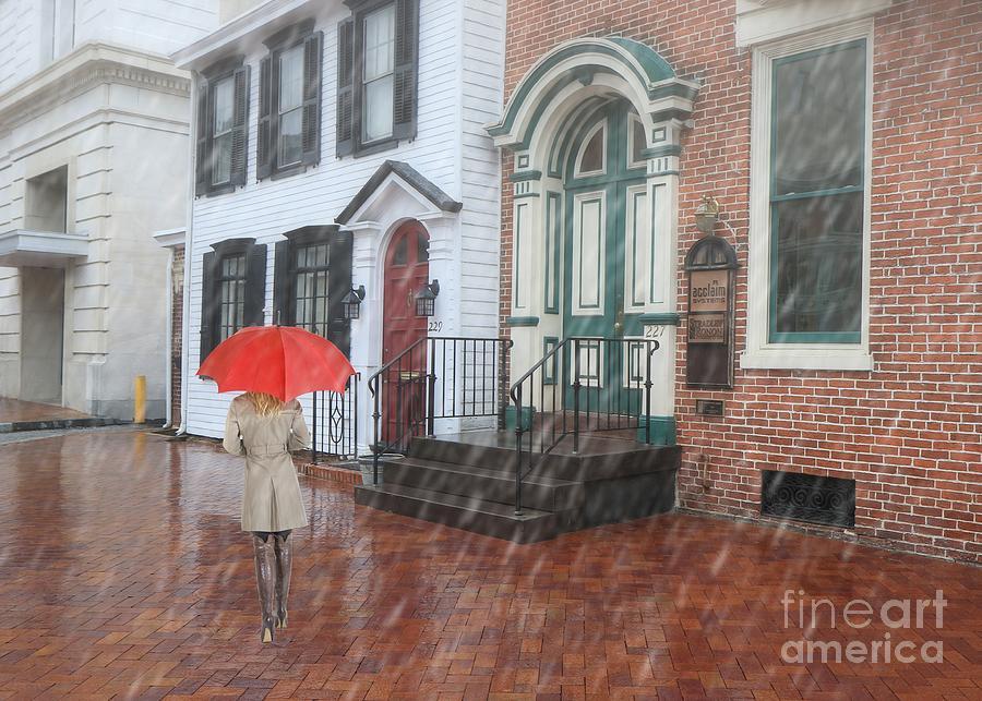 Just Walkin' In The Rain by Geoff Crego