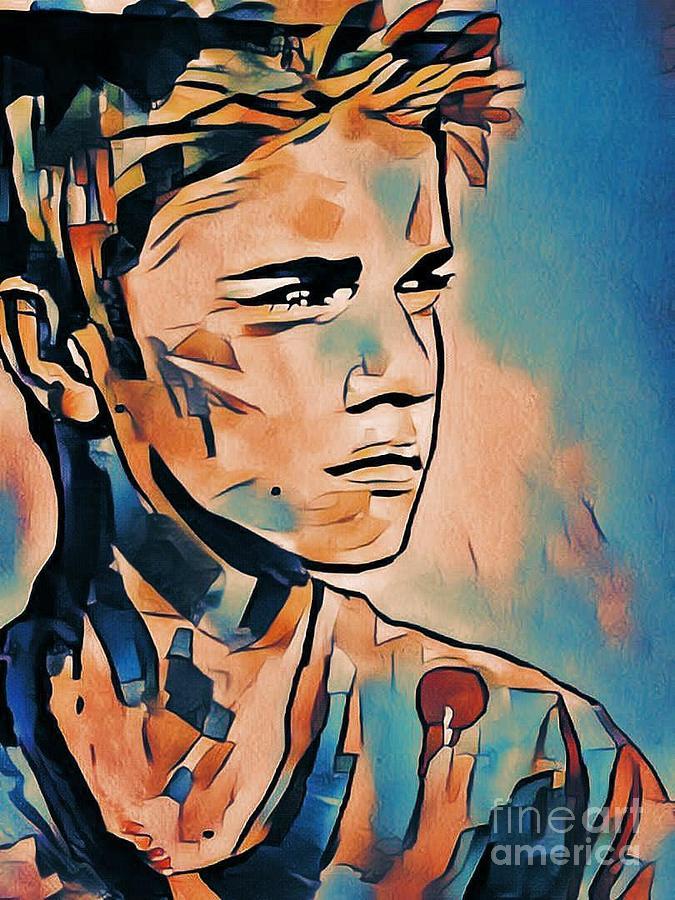 Justin Bieber 02 Mixed Media