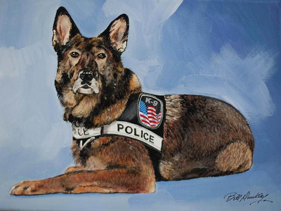 K-9 Police Dog by Bill Dunkley