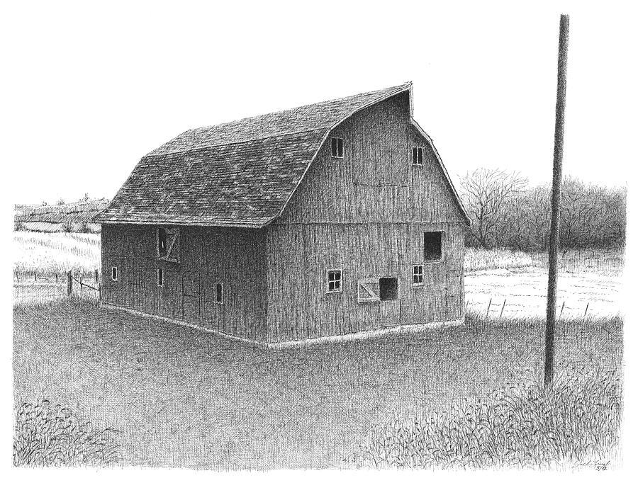 K Barn by Joel Lueck