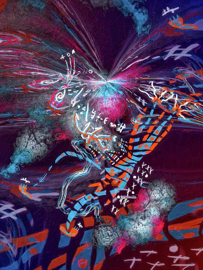 Kachina Spaceman by Skip Hunt