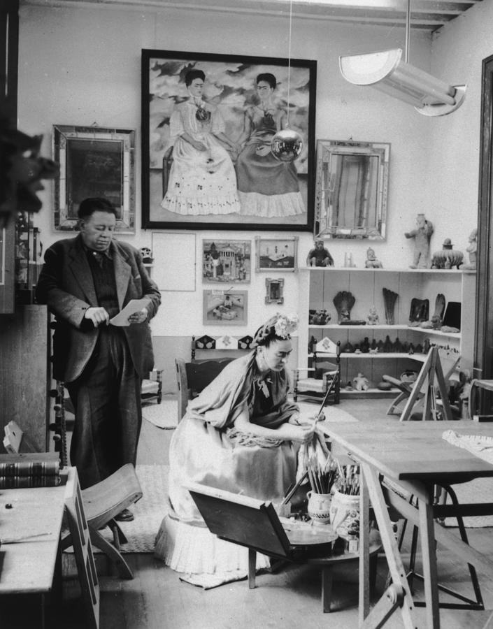 Kahlos Studio Photograph by Hulton Archive