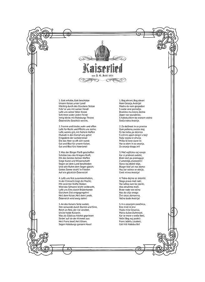 Kaiserlied - Croatian by Helga Novelli