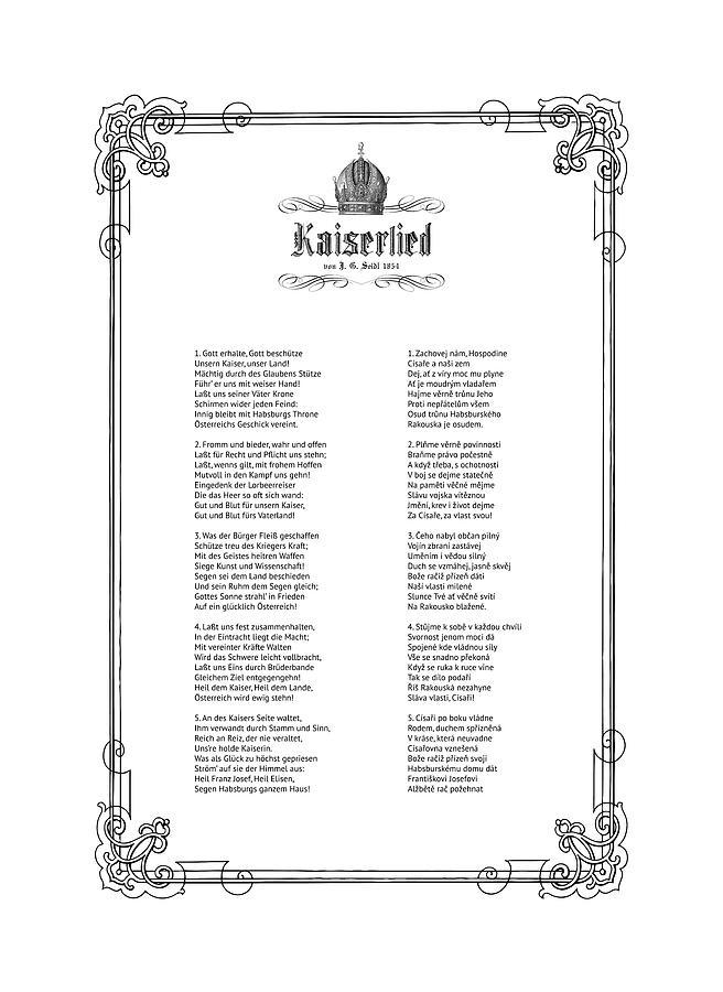 Kaiserlied - Czech by Helga Novelli