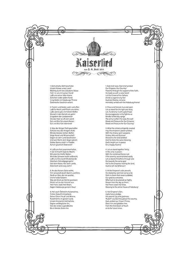 Kaiserlied - English by Helga Novelli