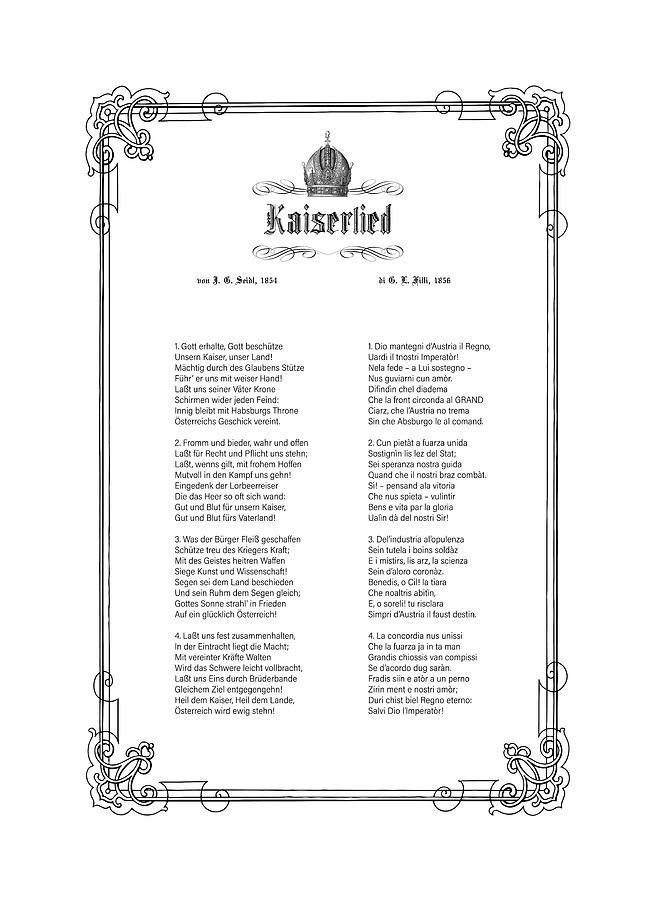 Kaiserlied - Friulian by Helga Novelli