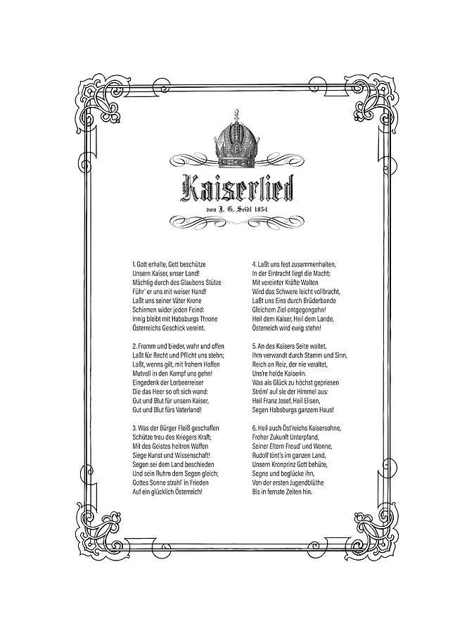 Kaiserlied - German by Helga Novelli